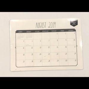 Rae Dunn Desk Blotter / Calendar NEW